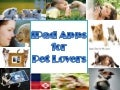 I pad apps for pet lovers