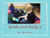 ipads and Daily 5