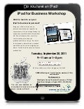 Washington County iPad for Business Workshop, September 20, 2011