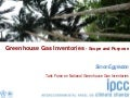 Greenhouse Gas Inventories -Scope and Purpose