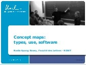 Concept Maps: Types, uses, software
