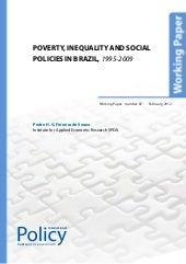 Poverty, Inequality and Social Poli...