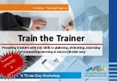Ipdc training 2014   train the trainer