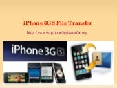 iPhone 3GS File Transfer Is Possibl...