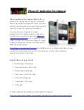 iPhone 4S Application Development