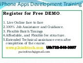 I phone apps development training o...