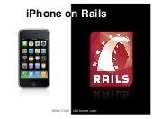 I Phone On Rails