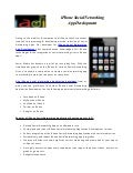 iPhone Social Networking Application development | iPhone 4 Social Networking Applications Development/Programming, iPhone/Mobile Social Networking Apps Development