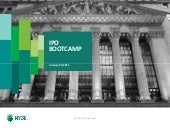 IPO Bootcamp: From Orrick Panel Event: M&A & IPO Market Update