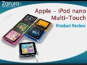 New iPod nano with Multi-Touch Prod...