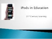 I pods in education