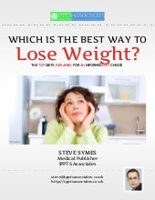 Which is the best way to lose weight?