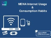 MENA Internet Usage & Consumption Habits