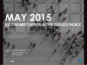 Ipsos MORI Issues Index - May 2015