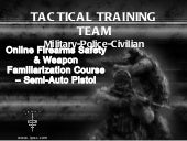 IPSSC Sample Pistol Safety and Fami...