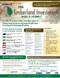 Iqpc'S Timberland Investment World Summit