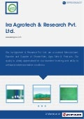 Green Sun Shade Nets by Ira agrotech research pvt ltd