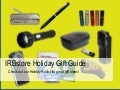 IRBstore Holiday Gift Guide