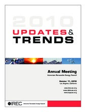 Irec annual-trends-report-10-1-10 web