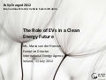 The role of electric vehicles in a clean energy future - IEA Executive Director