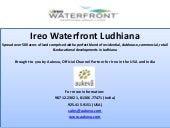 Ireo Waterfront Ludhiana, the Globa...
