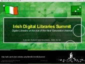 Irish Digital Libraries Summit