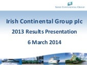 Irish Continental Group Plc video