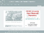 OCAD University Open Research Repository