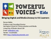 Powerful Voices for Kids at IRA Con...