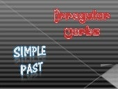 Simple Past - Verbos Irregulares