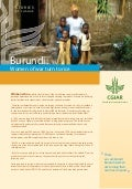 Burundi: Women of war turn to rice. IRRI