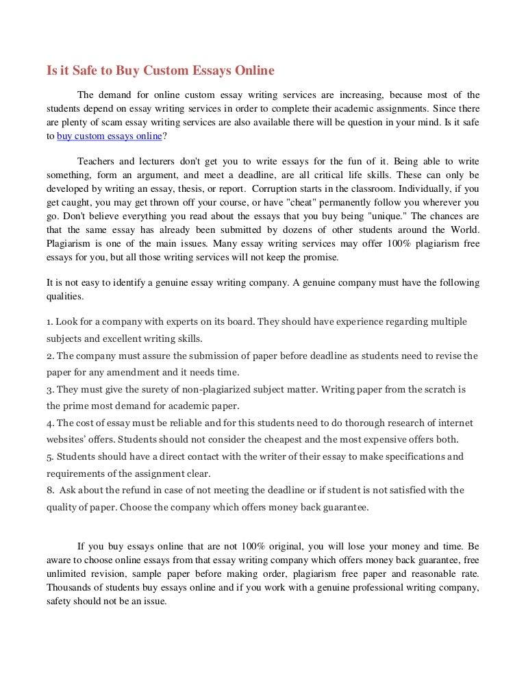 Free Essay Online