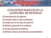 Is audit-clase nº 1