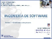 Ingeniería de Software - Sesion 2