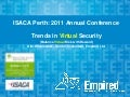 Isaca 2011 trends in virtual security v1.0