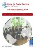 ISB Annual Report 2009 with outlooks on 2010