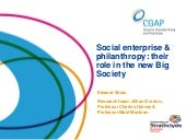 Social enterprise & philanthropy: t...