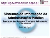 ISCAD - SIAP - IT Governance