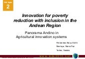 Innovation for poverty reduction wi...