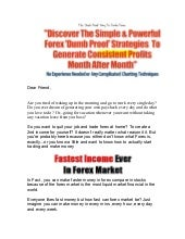 Is forex stock trading a good way t...