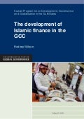 The Development of Islamic Finance in the GCC