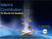Islam's Contributions to World Civi...