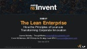 (ISM207) How the Principles of Lean Transform Innovation