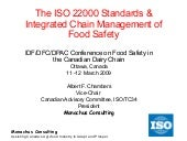 Iso 22000 At Dfc Idf 110309 Fin...