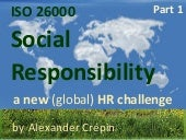 ISO 26000 & HR, Human Resources and...