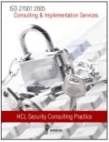 HCLT Brochure: ISO 27001:2005 Consulting & Implementation Services