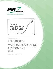 Risk-Based Monitoring Market Assessment  (2015)