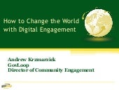 7 Steps to World-Changing Digital C...