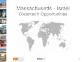 Massachusetts - Israel Cleantech Op...
