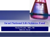 Israel National Lifescience Fund